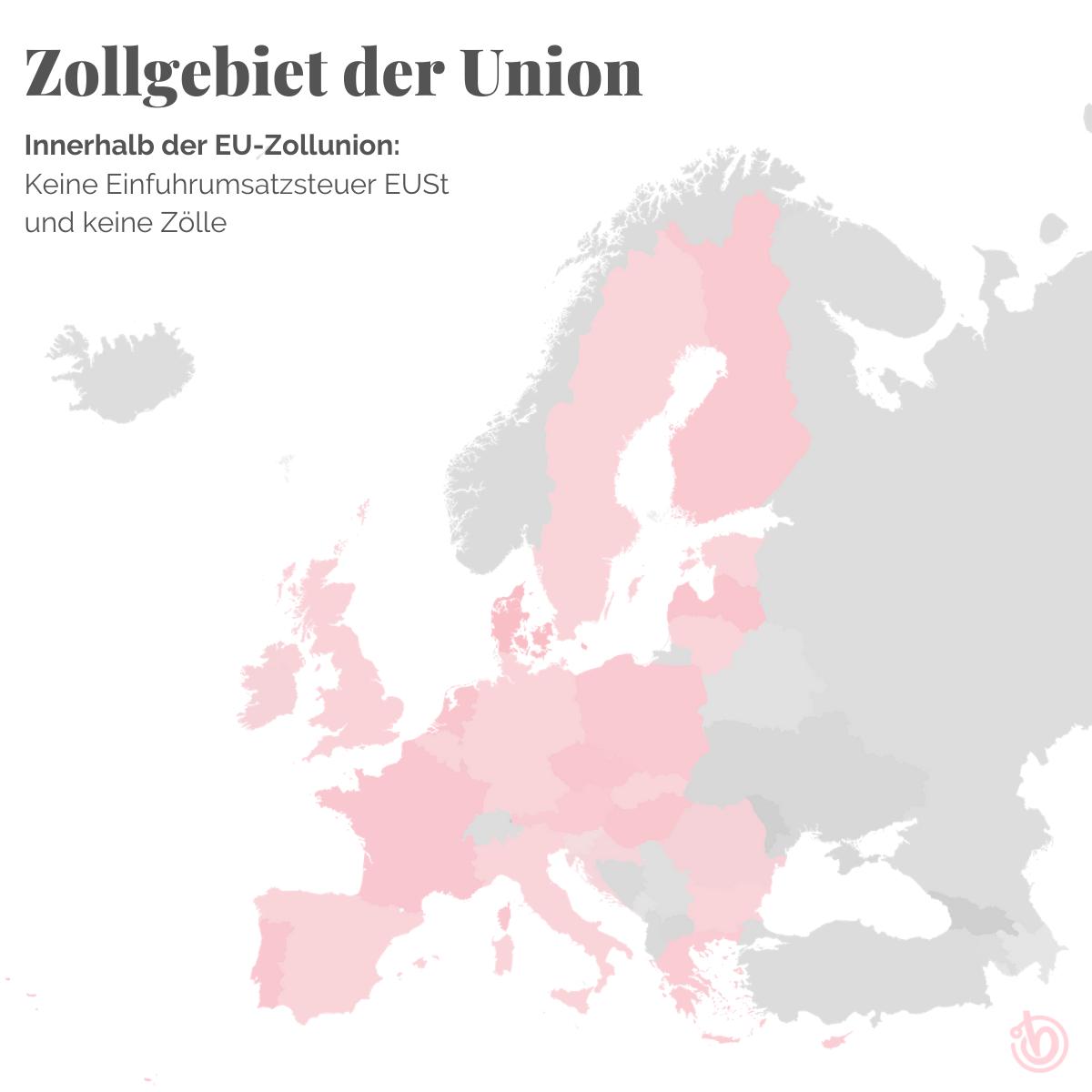 Zollgebiet Europäische Zollunion